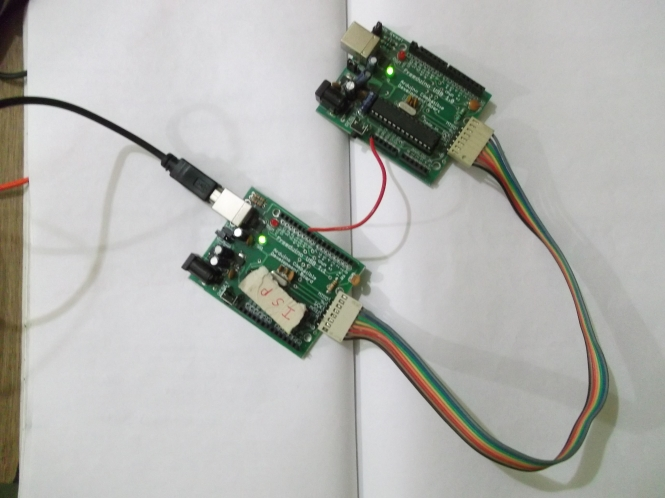 Arduino bootloader programming